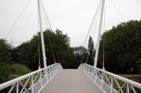 Fiets-voetgangersbrug over de Westersingel