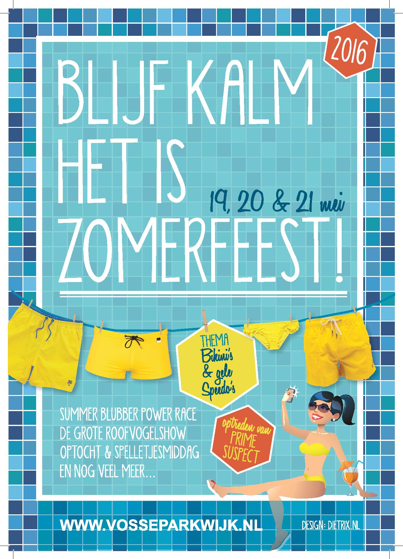Programma Zomerfeest 2016 online!